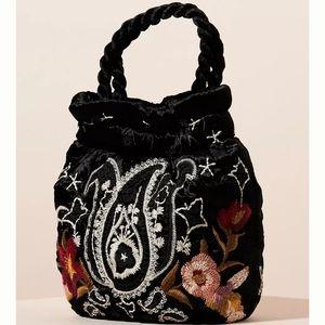 Johnny Was - Wendy Embroidered Velvet Bag